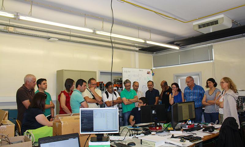 Visita ao Laboratório (Reunião 04/07/2019, FEUP)